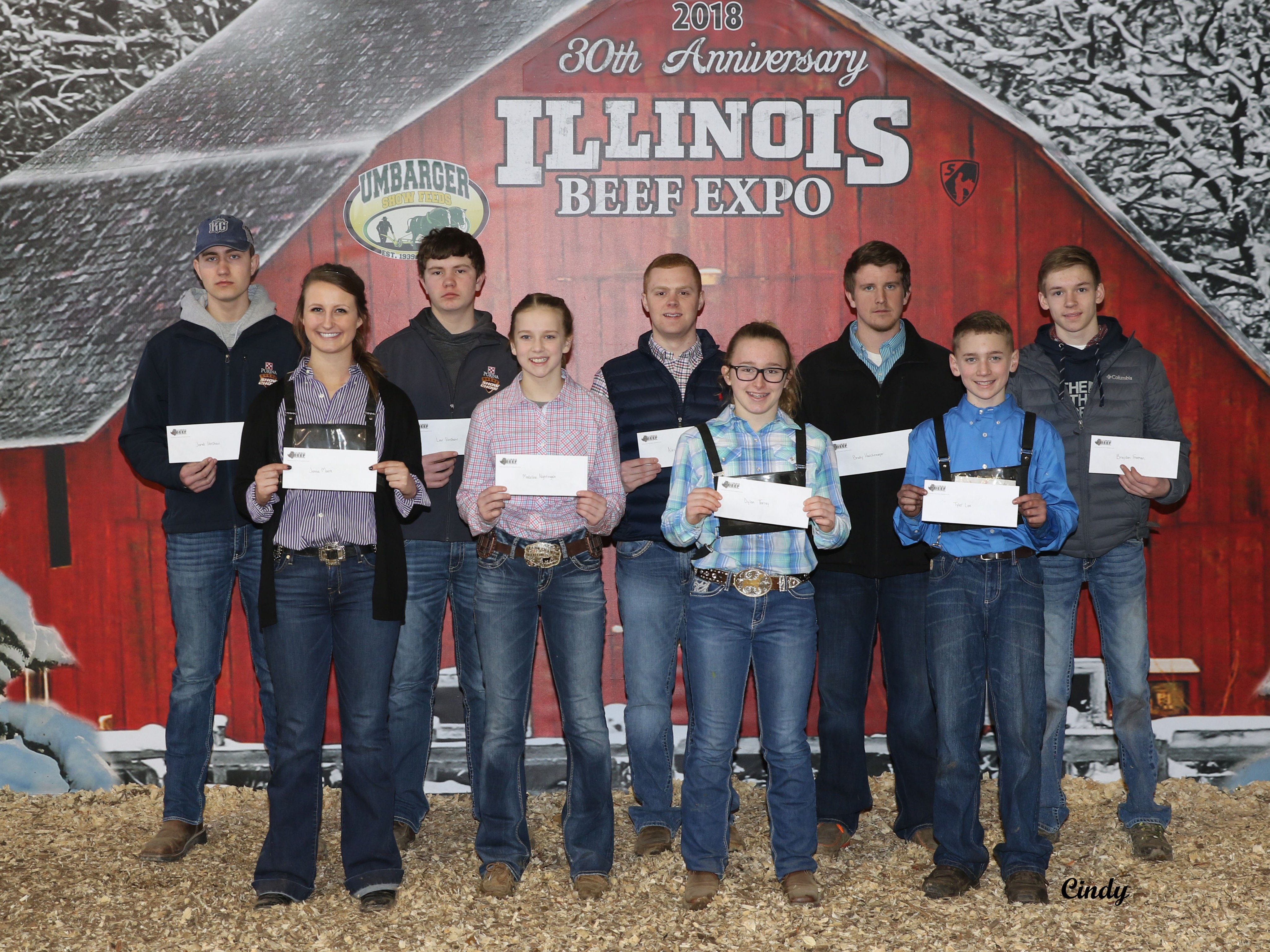 Steer Winners 2018 Points Show